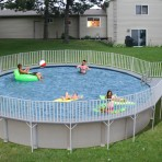 24′ X 52″ Round Decked Pool CLOSEOUT $3999.88