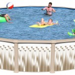 24′ X 52″ Round XL7000 CLOSEOUT with Package $1394.87