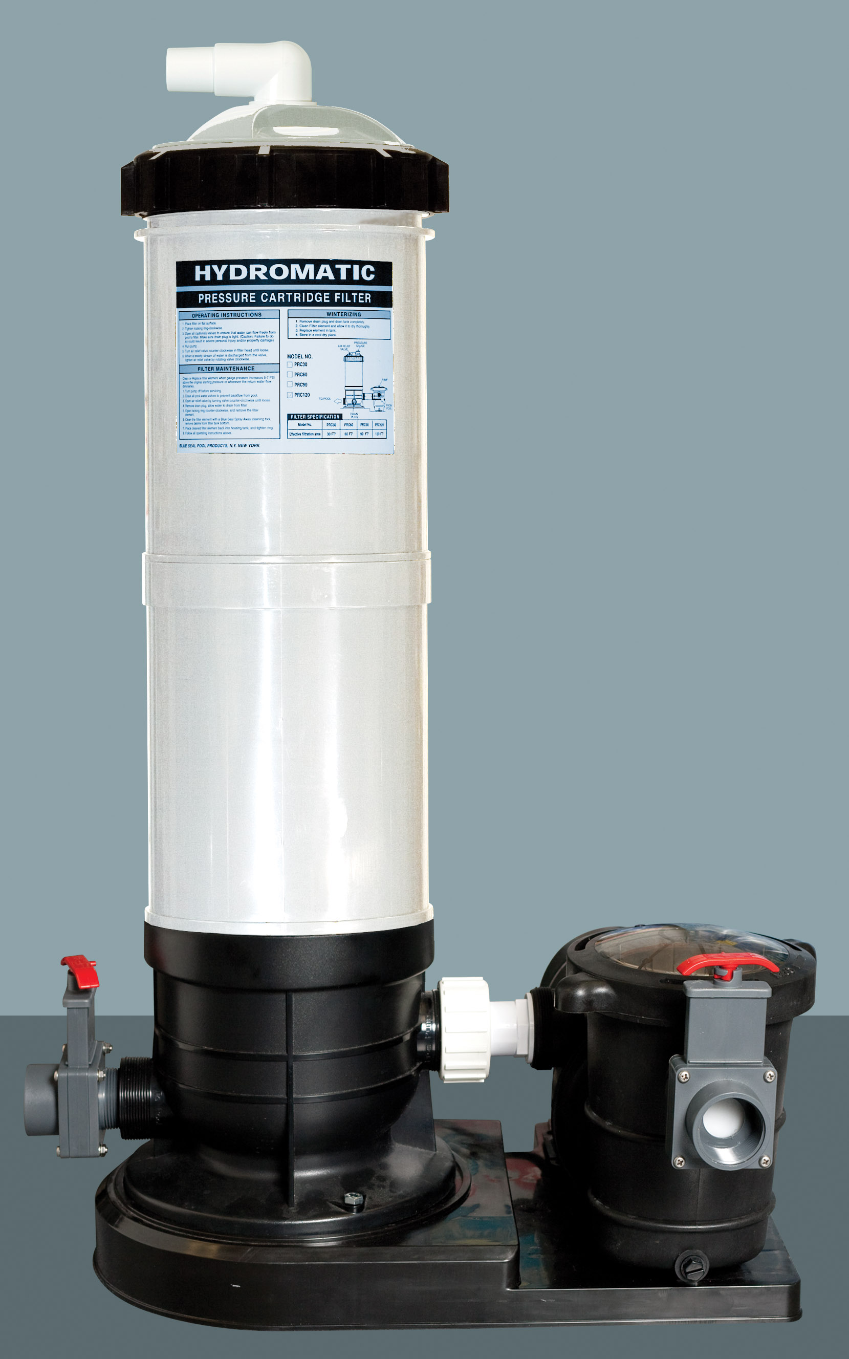 Hydromax Pressurized De Filter Systems From Swimming
