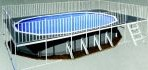 15′ X 30′ X 52″ Oval Promenade Deck Pool with Package PREORDER $8997.00