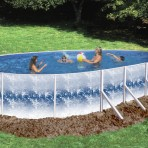 12'X24'X48″ Oval XL-4000 (2in) CLOSEOUT $899.87