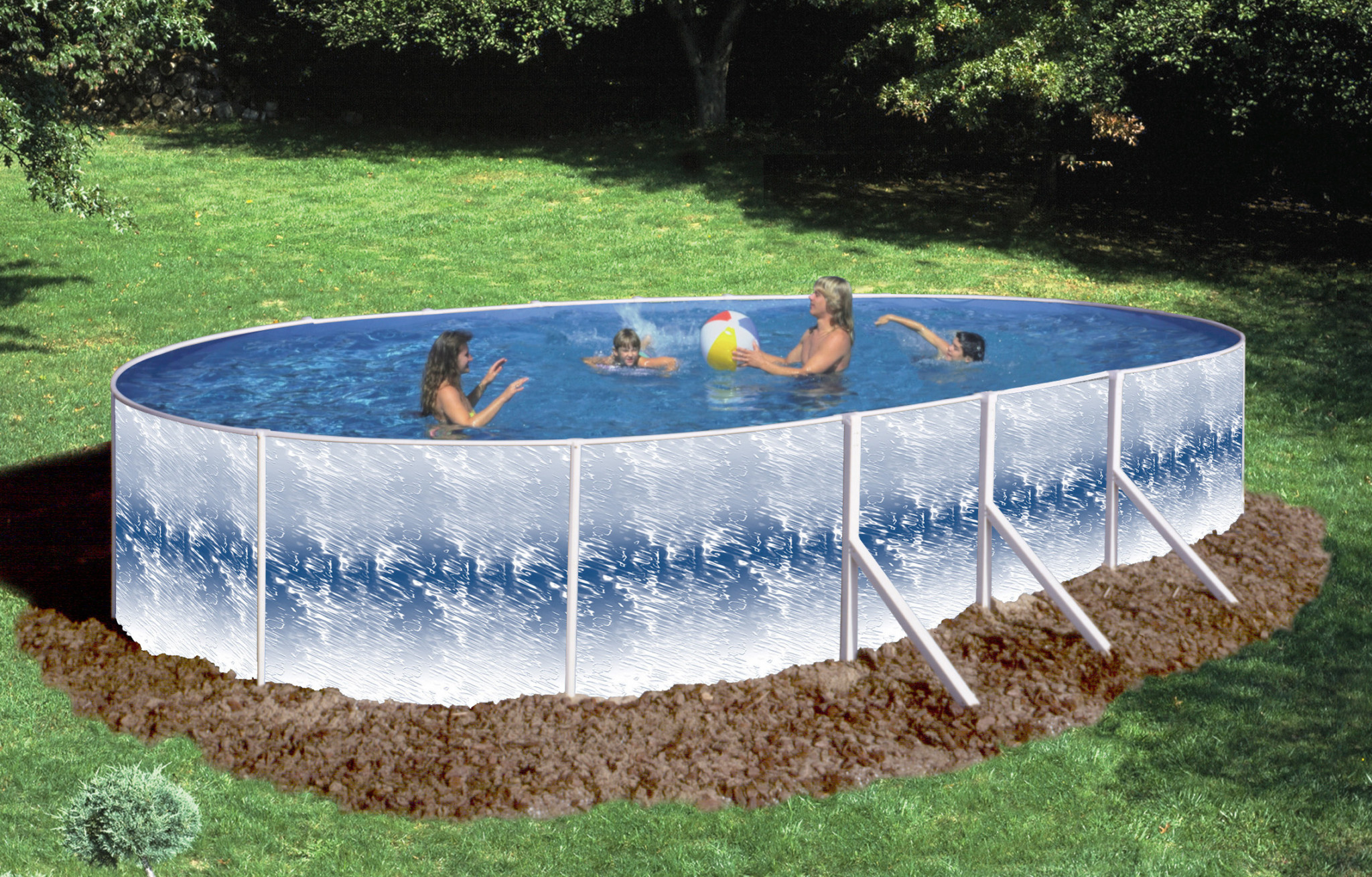 2019 15\'X24\'X52″ Oval Solar Flare Pool & Package Closeout ...