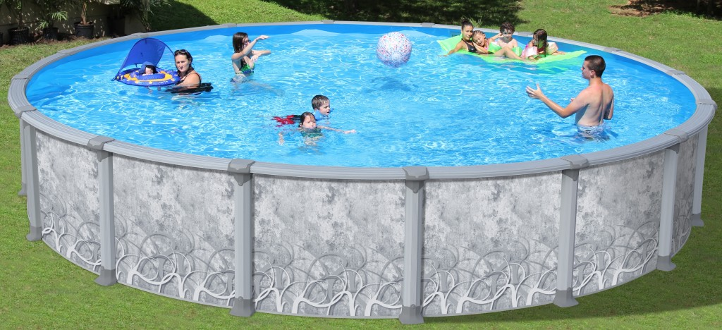 Swimming Pool Discounters 52 In Radius Extruded 7in Resin Frame