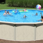 18'X54″ Round Decade (6in) Steel CLOSEOUT with PACKAGE $1,088.84