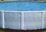 21'X52″ Round (6in) Resin CLOSEOUT $799.99