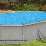 12'X17'X52″ Oval (7in) Freedom  Resin CLOSEOUT $799.99