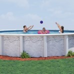 18'X52″ Round BRAND NAME (10in)  Resin CLOSEOUT $2,299.99