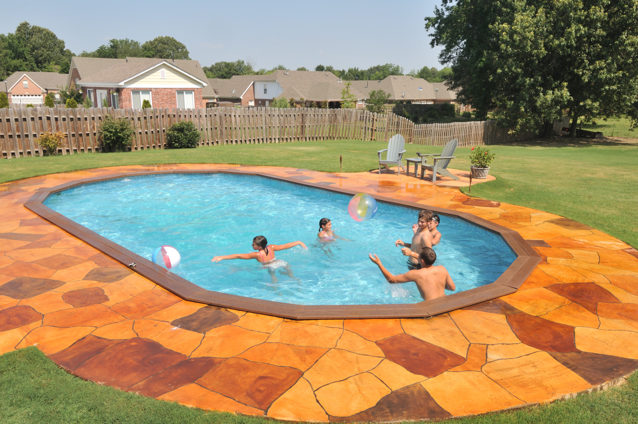 2021 Doughboy Combo Recessed Pool With Or Without Built In Steps Swimming Pool Discounters