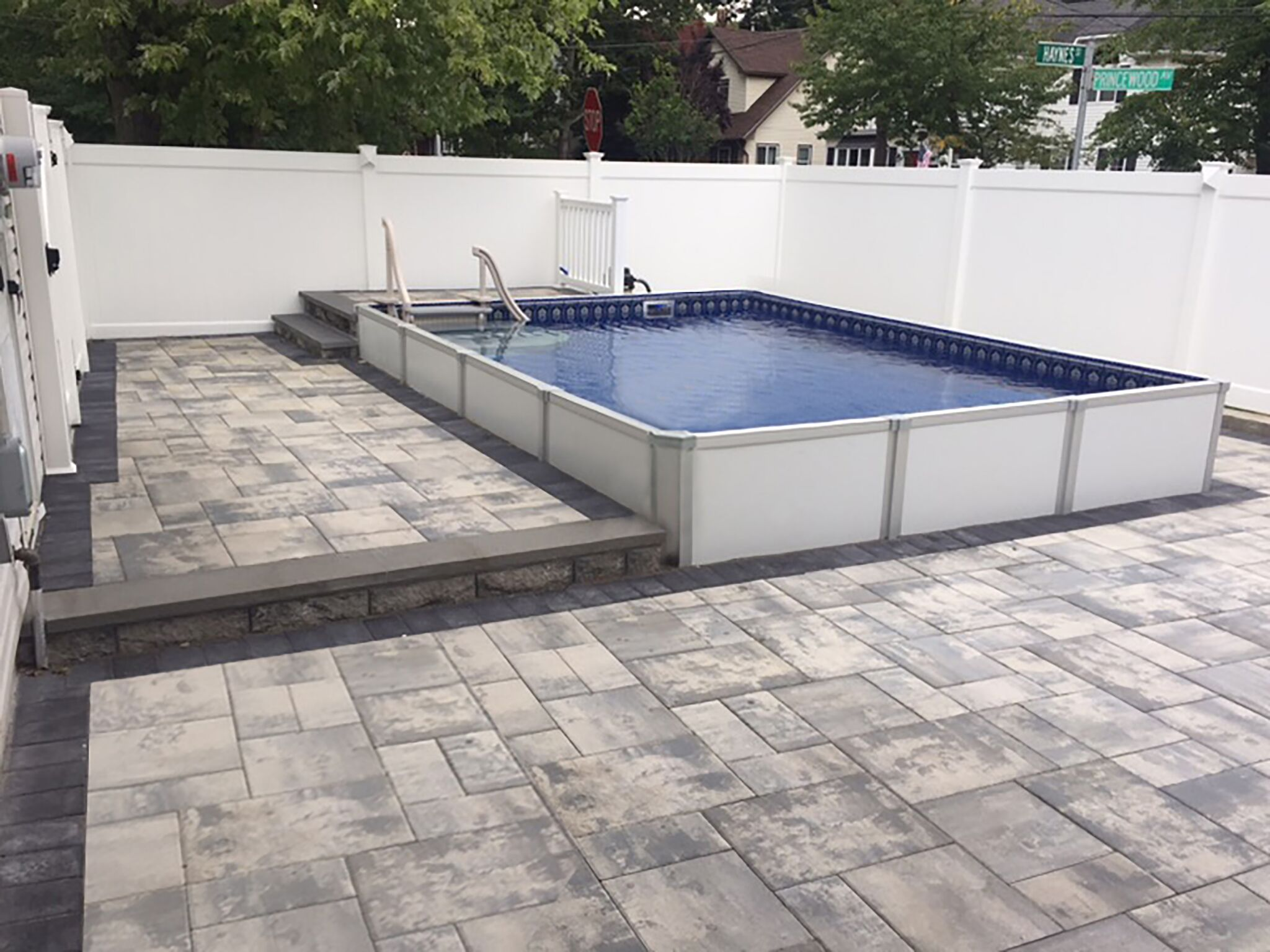2019 HERCULES ON GROUND or INGROUND ALUMINUM POOL | swimming ...