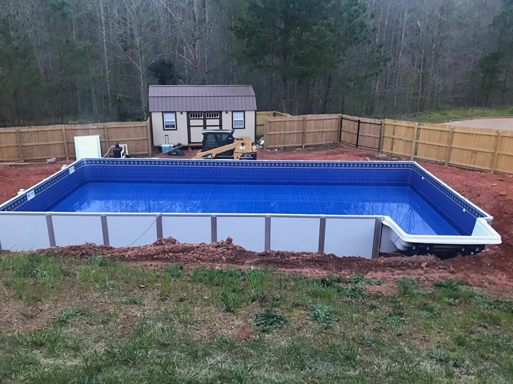2019 HERCULES ON GROUND or INGROUND ALUMINUM POOL | swimming pool ...