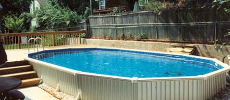 aluminum combo pools