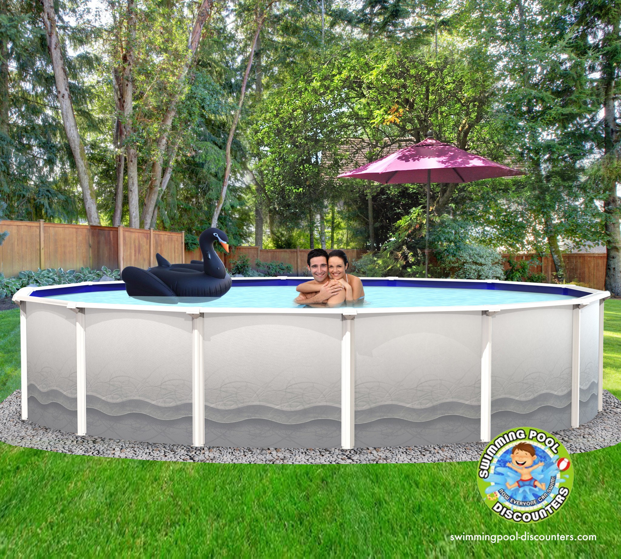 2020 RG-5000 24\'X52″ Round (7in) Steel Pool with FREE GOODS ...