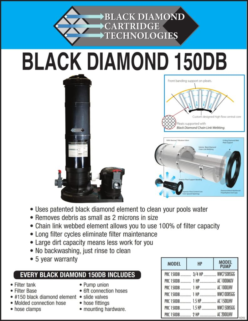 Black Diamond Cartridge Filters And Systems From 399 99