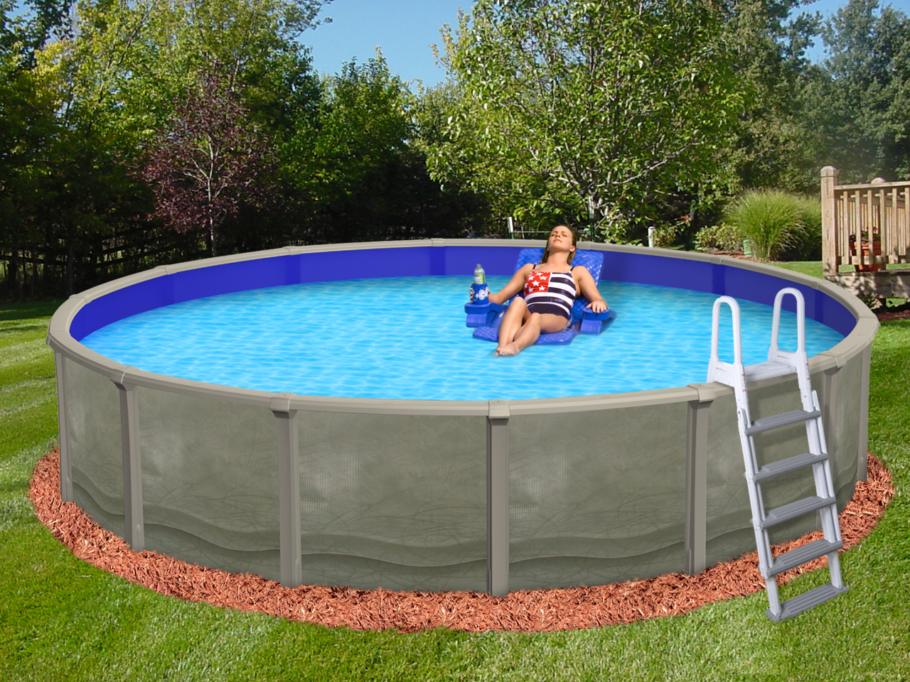 2019 15\'X52″ Round RESIN SALTMATE Pool and PACKAGE CLOSEOUT ...